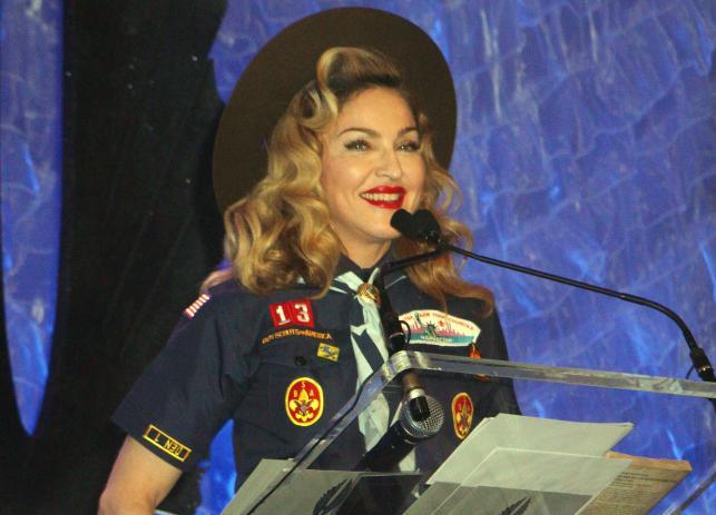 Madonna na gali wręczenia GLAAD Media Awards