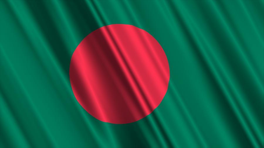Flaga Bangledeszu