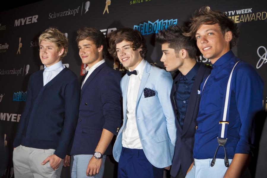 One Direction z prezydencką obstawą