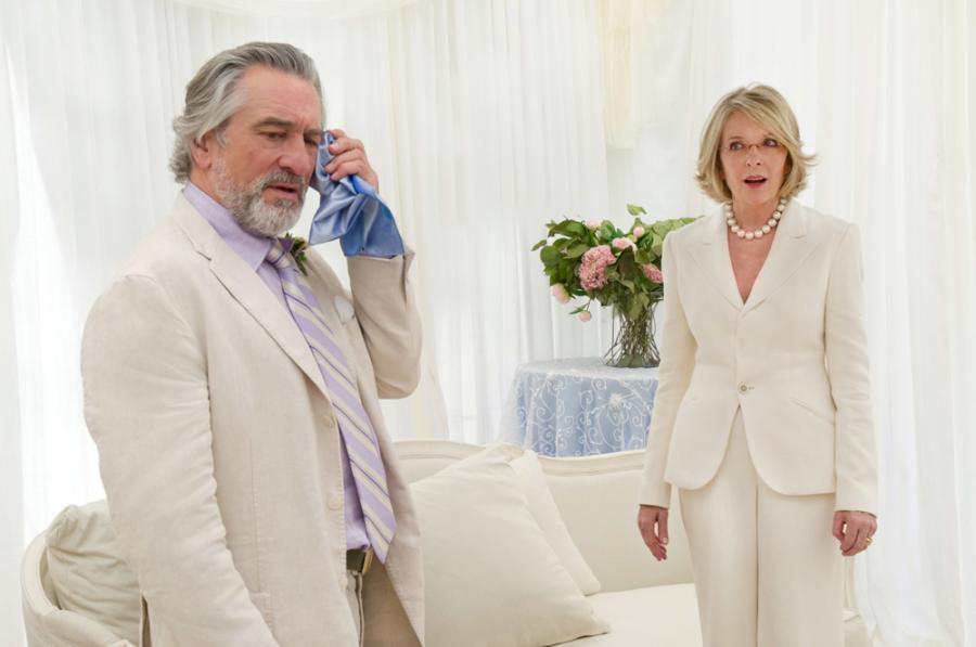 """Diane Keaton i Robert de Niro w filmie """"Wielkie wesele"""""""