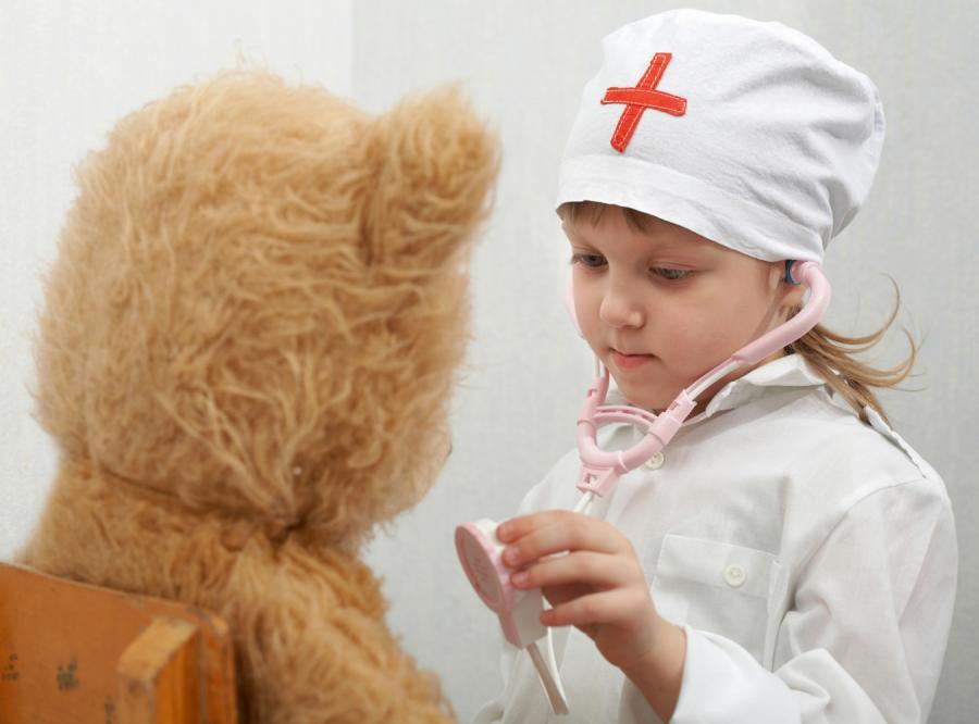 Moja córka zostanie lekarką