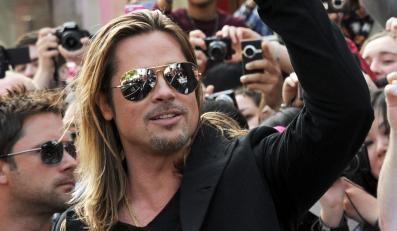 Brad Pitt na premierze w Londynie