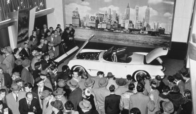 Chevrolet corvette - pierwsza generacja (C1) - 1953-62