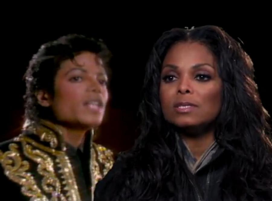 Michael i Janet Jackson w \