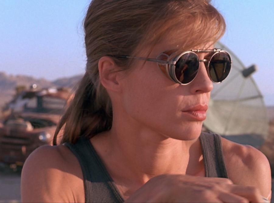 Linda Hamilton jako Sarah Connor w \
