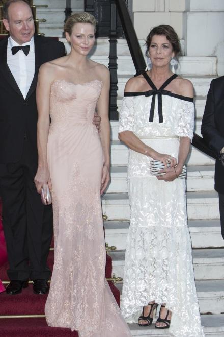 Para książęca Monako i księżna Hanoweru Karolina