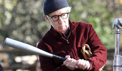 "Woody Allen na planie ""Fading Gigolo"""