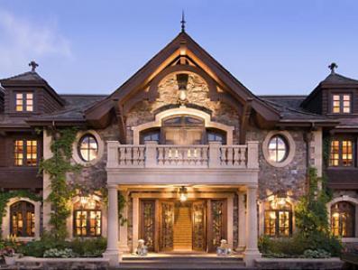 """100 milionów Willa """"Spokojność"""" w Lake Tahoe, Nevada"""