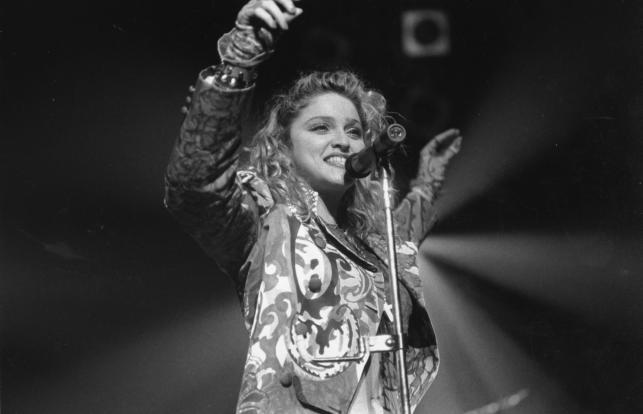 Madonna w 1985 roku