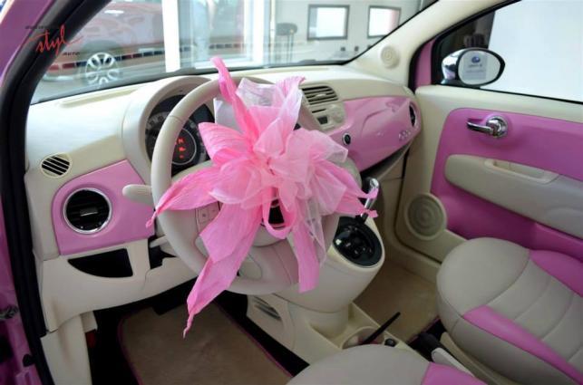 Grażyna Szapołowska sprawiła sobie różowego fiata 500