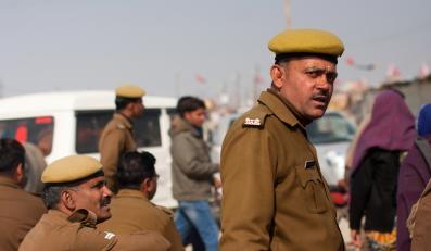 Policja w Indiach
