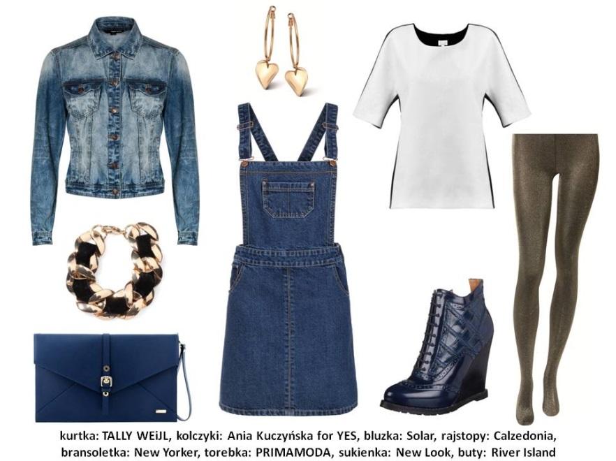 Jeans w roli głównej - stylizacje na jesień 2013