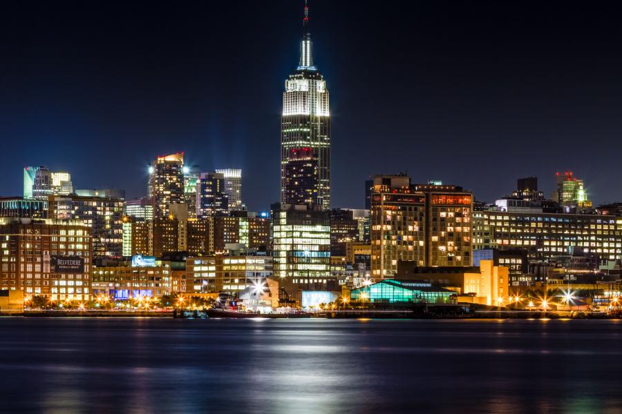 Empire State Building - Nowy Jork romantycznie
