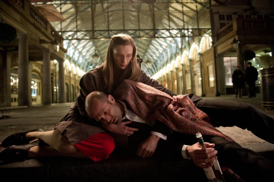 Agata Buzek i Jason Statham w filmie \