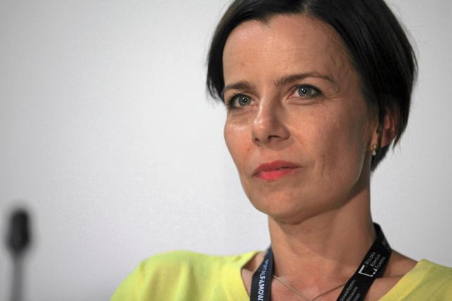 Agata Kulesza na festiwalu w Gdyni