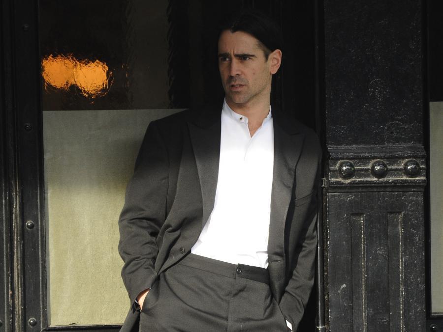 Colin Farrell na planie filmu \