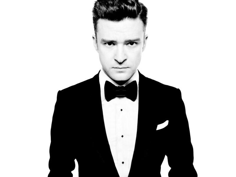 Justin Timberlake ubrany przez Toma Forda