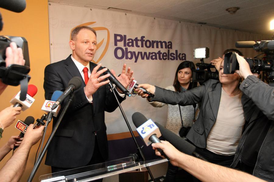 Europoseł i szef dolnośląskiej PO Jacek Protasiewicz