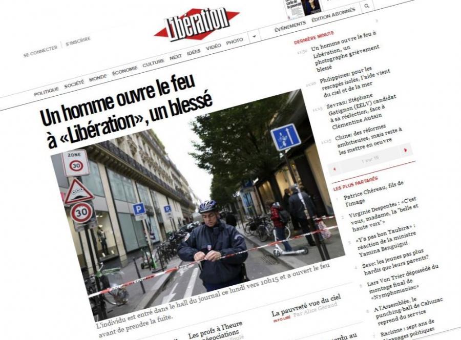 Strzelanina w redakcji dziennika \