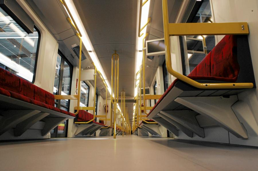 Pociąg Inspiro, Metro Warszawskie