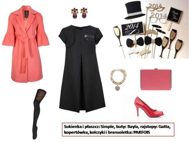 Modne stylizacje na Sylwestra 2013