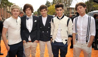 One Direction zdobyli tytuł MTV Stars 2013