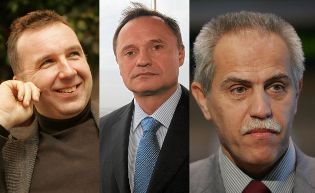 Michał Sołowow, Leszek Czarnecki, Zygmunt Solorz-Żak