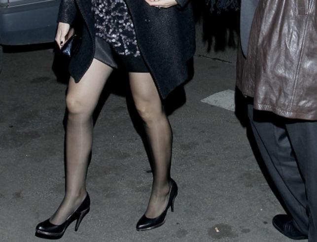 Seksowne nogi Anny Majewskiej