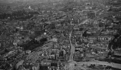 Lewobrzeżna Warszawa została zniszczona w 84 procentach