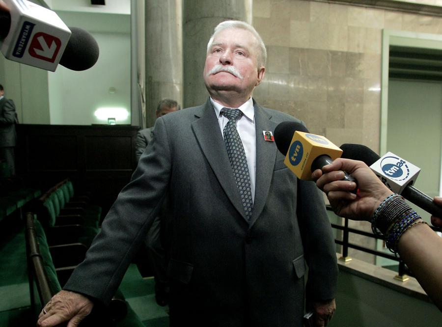 Lech Wałęsa trafił do unijnej \