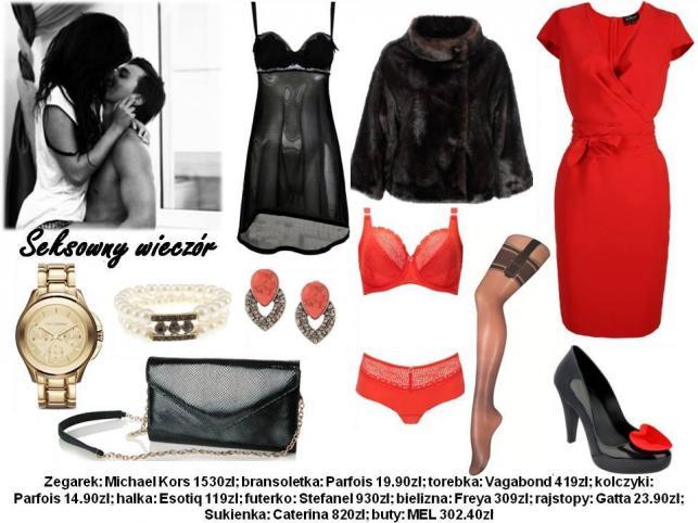Modne stylizacje na Walentynki 2014