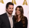 Christian Bale z żoną Sandrą Blazic na spotkaniu nominowanych do Oscara 2014