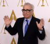 Martin Scorsese na spotkaniu nominowanych do Oscara 2014
