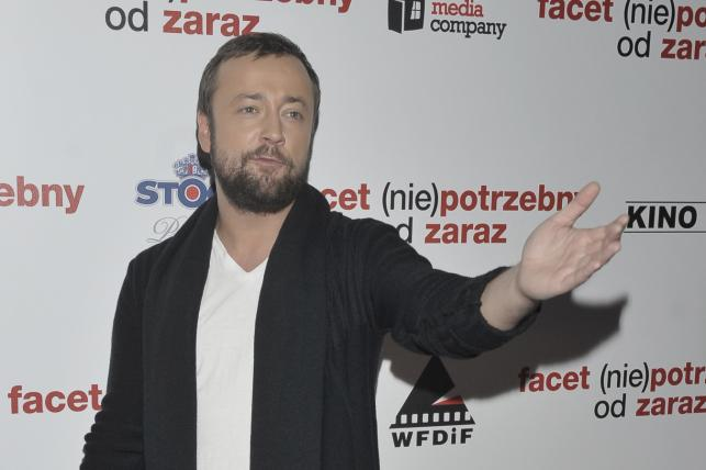 """Czesław Mozil na premierze filmu """"Facet (nie)potrzebny o zaraz"""""""