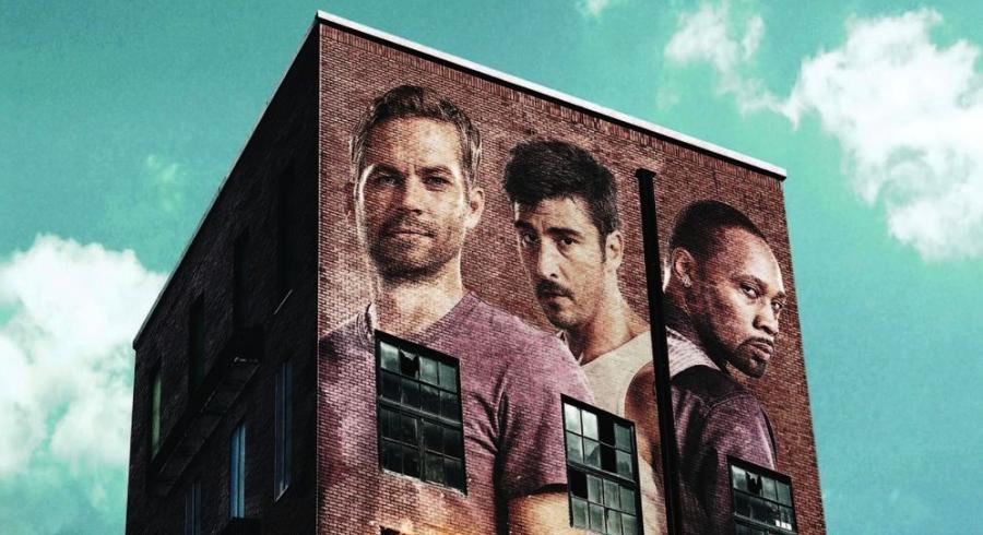 "Paul Walker na plakacie filmu ""Brick Mansions. Najlepszy z najlepszych"""