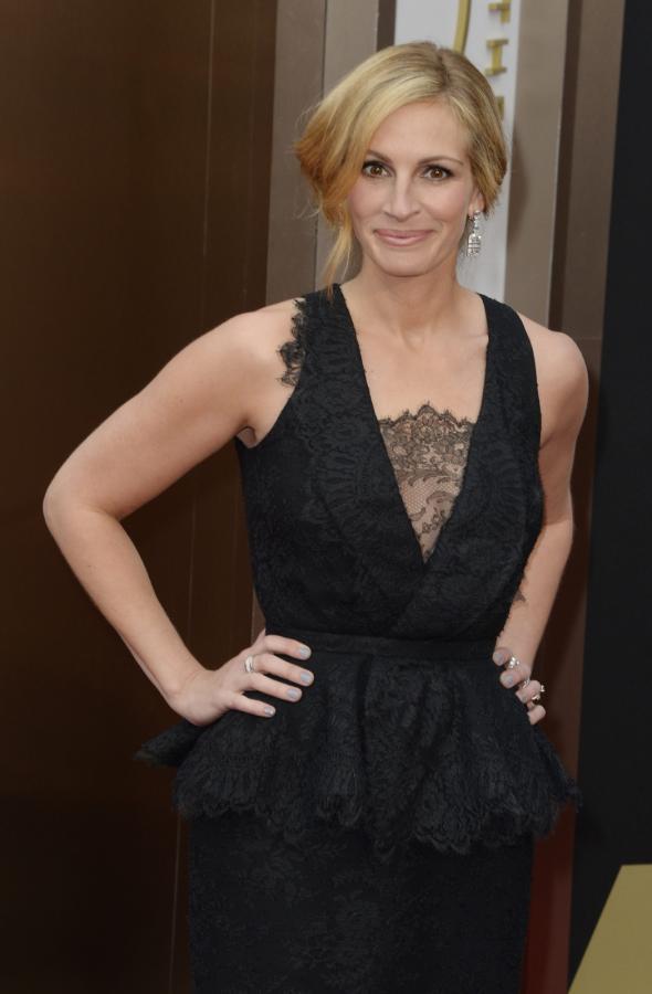 Julia Roberts na gali Oscarów 2014
