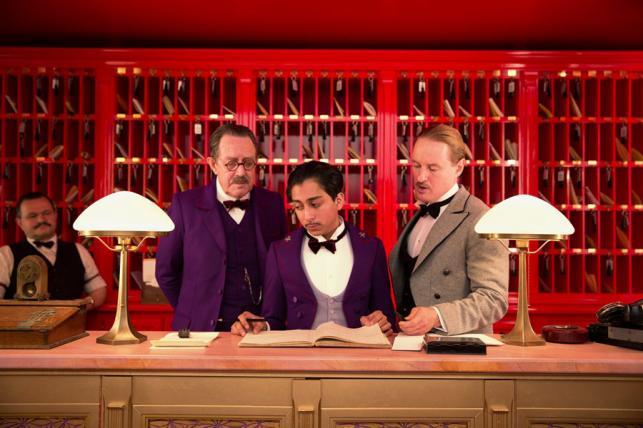 "Nominacja w kategorii Najlepsza komedia lub musical: ""Grand Budapest Hotel"""