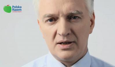 Kadr ze spotu Polski Razem Jarosława Gowina