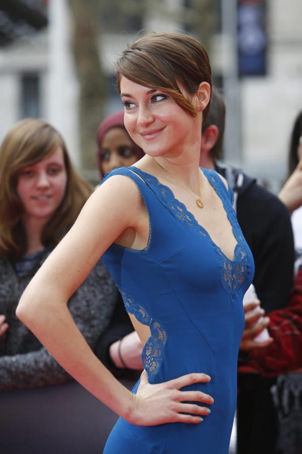 """Shailene Woodley na premierze """"Niezgodnej"""" w Berlinie"""