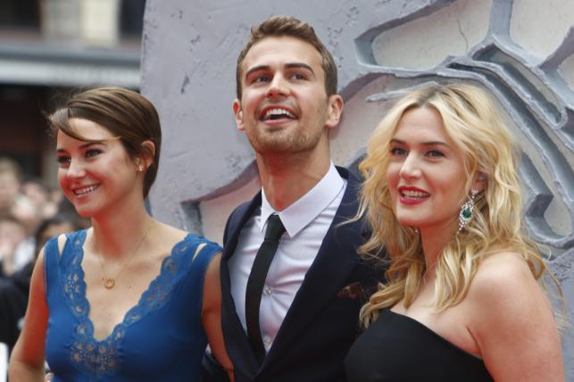 """Gwiazdy """"Niezgodnej"""": Shailene Woodley, James i Kate Winslet w Berlinie"""
