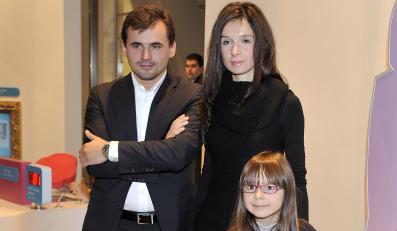 Marta Kaczyńska i Marcin Dubieniecki z córką