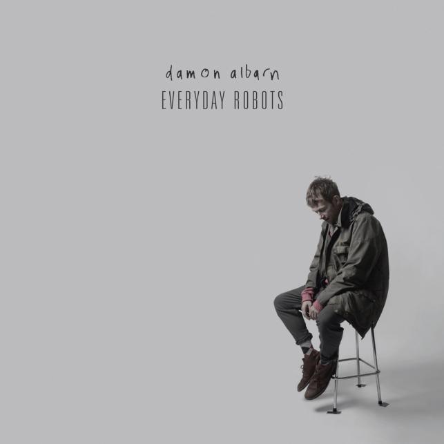 "Damon Albarn na okładce albumu ""Everyday Robots"""