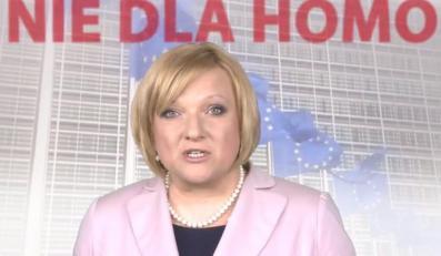 Beata Kempa w spocie wyborczym Solidarnej Polski