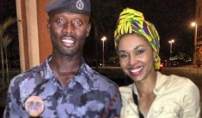 Omenaa Mensah w Ghanie / zdjęcie z oficjalnego profilu prezenterki
