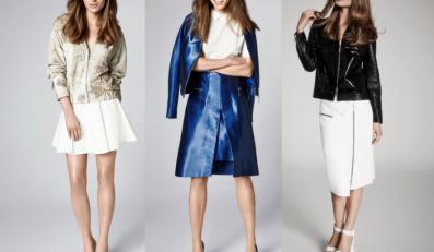 Metaliczne ubrania z kolekcji Simple CP wiosna/lato 2014