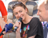 Narodowcy kontra Justyna Kowalczyk. Protestowali przed jej namiotem