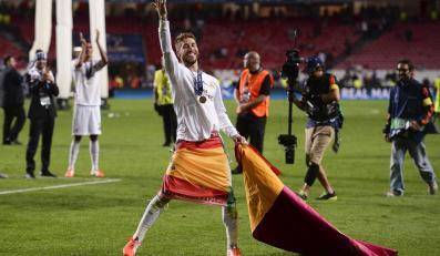 Tak Real cieszył się ze zdobycia 10. Pucharu Europy