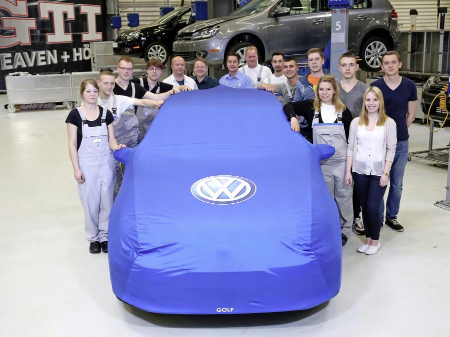 Uczniowie zbudowali nowy model Volkswagena