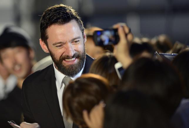 """Hugh Jackman promował film """"X-Men: Przeszłość, która nadejdzie"""" w Tokio"""
