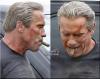 "Arnold Schwarzenegger na planie filmu ""Terminator: Genesis"""
